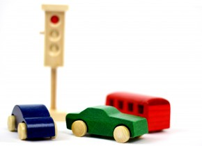 Beck - Verkehrsampel - aus Holz - Made in Germany