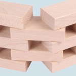 Beck - Holzbausteine aus Buchenholz, natur