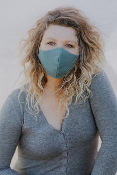 Community mask - face mask - green, eco
