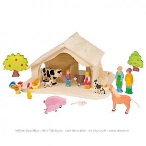 Holztiger - Stall, Krippe, Holz
