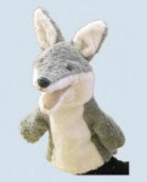 Kallisto Handpuppe - Wolf - Bio Baumwolle, öko