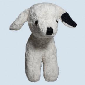 Kallisto Stofftier, Kuscheltier - Hund, Welpe - weiß, Bio
