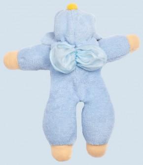 Nanchen Puppe - Blumenfee - blau, Bio Baumwolle, öko