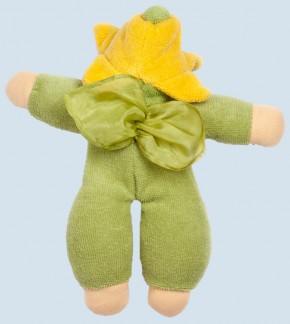 Nanchen Puppe - Blumenfee - grün, Bio Baumwolle, öko