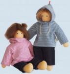 Nanchen Puppe - Wonnekind Joscha - Bio Baumwolle, öko