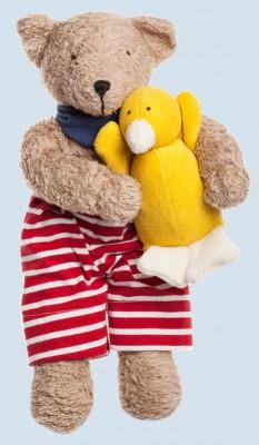 Nanchen cuddly animal - sea bear, teddy - organic cotton