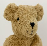 Senger - Schlenker Kuscheltier Teddy Bär - beige, groß, Bio Baumwolle