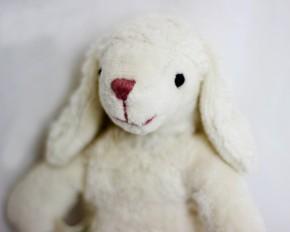 Senger - Kuscheltier Baby Schaf - Bio Baumwolle