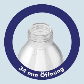 Emil die Flasche - Weithals Trinkflasche Leopard -  0,75 Liter