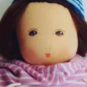 Nanchen Puppe - Wonnekind Hannah - Bio Baumwolle, öko