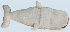 plue natur hand puppet, handdoll - whale - organic cotton, eco
