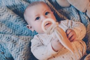 wooly organic - Baby Geschenkset, Starterset - Baumwolle Bio Qualität, 56